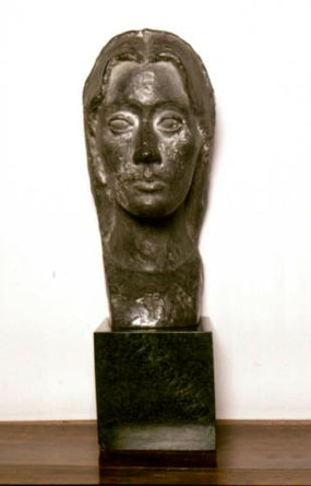 Image of bust Bust of Vanessa Bell
