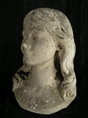 Image of bust Julia Jackson