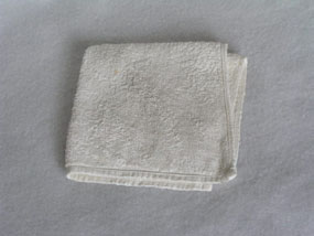 Image of towel  [Click here to close this image]