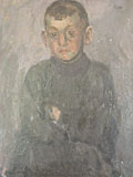 painting Portrait of one of Madame Villain's Son's [Click here to see more information about this item]