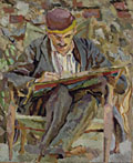 painting Portrait of John Maynard Keynes [Click here to see more information about this item]