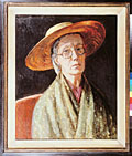 painting Vanessa Bell, self portrait [Click here to see more information about this item]