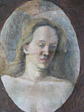painting Portrait of a young woman [Click here to see more information about this item]