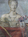 painting Still life with bust [Click here to see more information about this item]