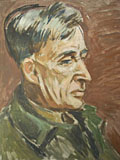 painting Portrait of Leonard Woolf [Click here to see more information about this item]
