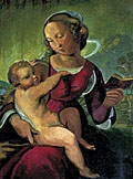 painting Colonna Madonna [Click here to see more information about this item]