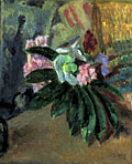 painting Still life of flowers [Click here to see more information about this item]