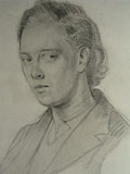drawing Portrait of Clive Bell [Click here to see more information about this item]