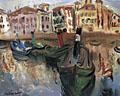 painting Harbour, St Jean de Luz [Click here to see more information about this item]