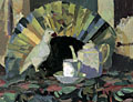 painting Still Life With Fan [Click here to see more information about this item]