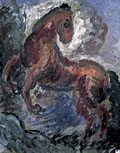painting A Prancing Horse [Click here to see more information about this item]