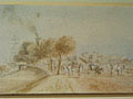 watercolour A View of India [Click here to see more information about this item]