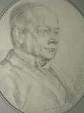 drawing Major Bartle Grant [Click here to see more information about this item]