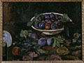 painting Still life of plums [Click here to see more information about this item]