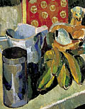 painting Still life with Omega cat [Click here to see more information about this item]