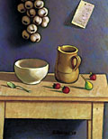 painting Still life with Strawberries [Click here to see more information about this item]