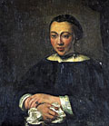 painting Portrait of a lady [Click here to see more information about this item]