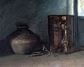 painting Ancient urn and Bible [Click here to see more information about this item]