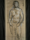 painting Female nude [Click here to see more information about this item]