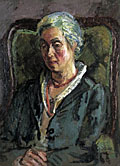 painting Portrait of Helen Anrep [Click here to see more information about this item]