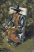 painting Virginia Woolf [Click here to see more information about this item]