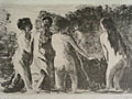lithograph Baigneuses [Click here to see more information about this item]
