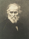 etching Thomas Carlyle [Click here to see more information about this item]