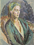 painting Vanessa Bell [Click here to see more information about this item]