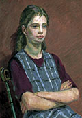 painting Portrait of Henrietta Garnett [Click here to see more information about this item]