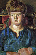 painting Portrait of Quentin Bell as a boy [Click here to see more information about this item]